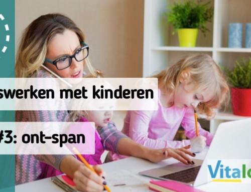 Thuiswerken met kinderen Tip #3